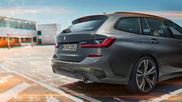BMW 3er Touring Heck von rechts