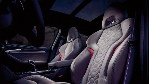 BMW X4 M ergonomisch geformte M Sportsitzen aus feinstem Leder 'Merino'