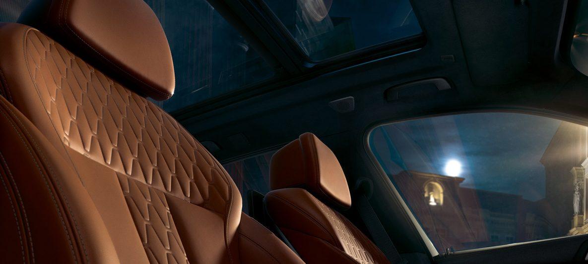 Ledersitze BMW X5 G05 2018 Interieur