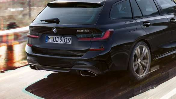 BMW 3er Touring M Heck