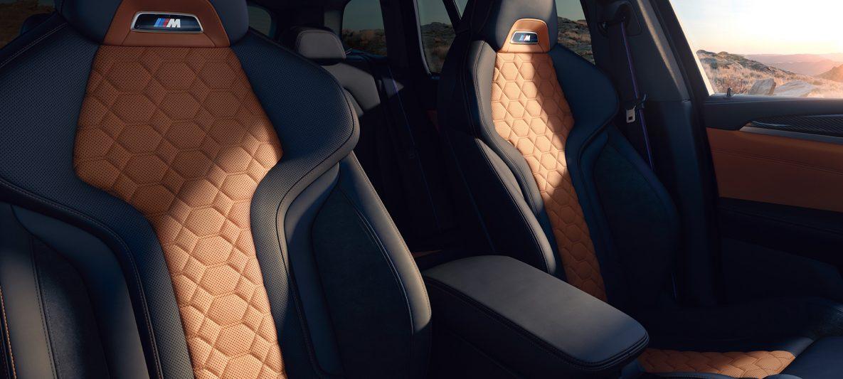 BMW X3 M Competition F97 LCI Facelift 2021 Innenraum M Sportsitze
