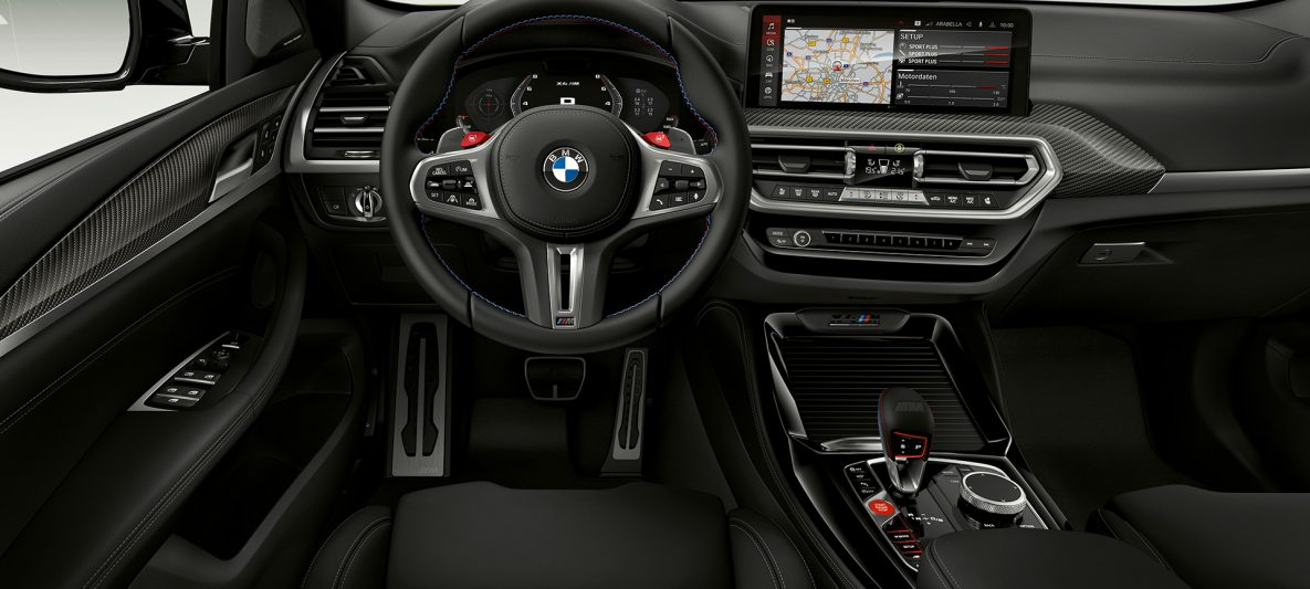 BMW X4 M Competition F98 LCI Facelift 2021 Cockpit Innenraum
