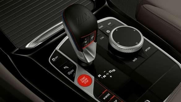 BMW X4 M F98 LCI Facelift 2021 Interieurleisten M Gangwahlschalter