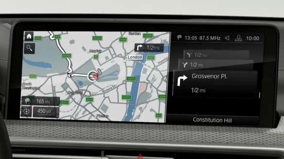 BMW X4 M Automobile F98 G02 LCI Facelift 2021 BMW Live Cockpit Professional