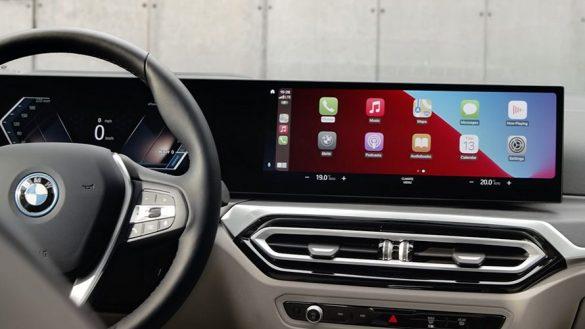 BMW i4 M50 G26 2021 Digital Services BMW ConnectedDrive